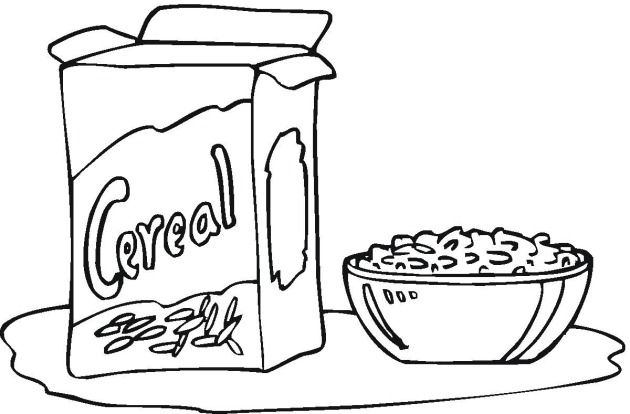 Free Bread & Cereal Coloring Pages #colorpages #coloring #