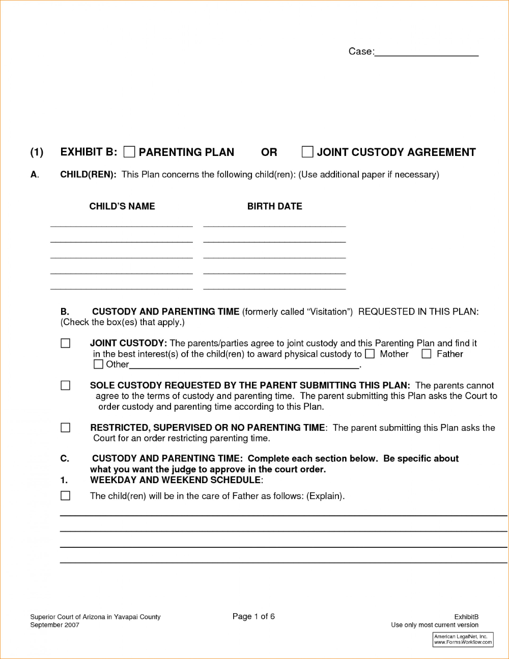 Affidavit Of Agreement Sample Fresh Divorce Settlement Template With Divorce Financial Settlement Agreement Temp Joint Custody Custody Agreement Parenting Plan