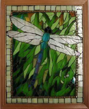 Pin By Doc Mozz On Dragonfly Tiles Mosaics Glass Mosaic Art