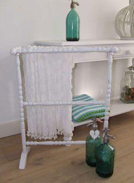 Brocante badkamer decoratie bij Zout | Brocante sanitair | Pinterest ...