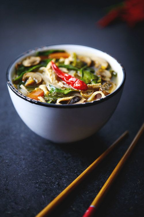 Thai Hot & Sour Soup // Natural Girl Modern World // Vegan & Gluten Free