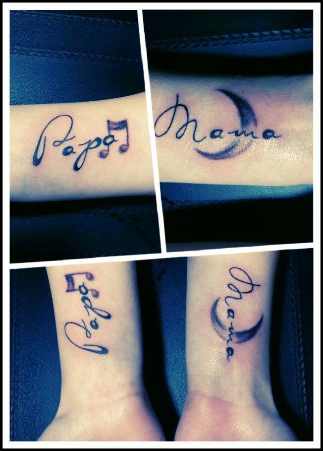 Mama Papa Tattoo