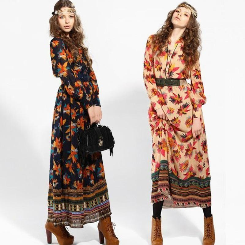 bohemian wear for women | Wholesale New Fashion Bohemian Dress ...