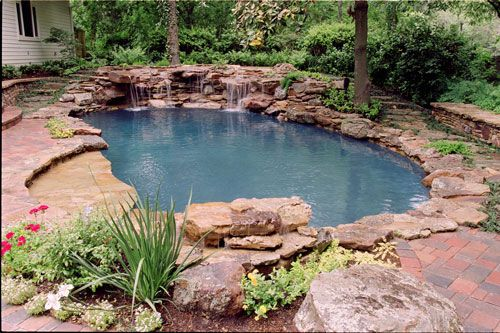 natural swimming pool design case history - Natural Swimming Pool Designs