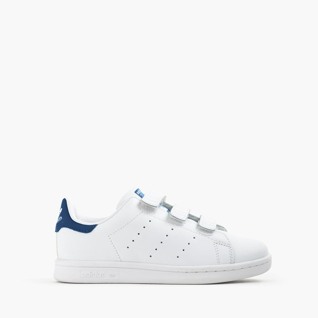 promo code cfb12 cddfa crewcuts Boys Adidas Stan Smith Sneakers In Larger Sizes ...