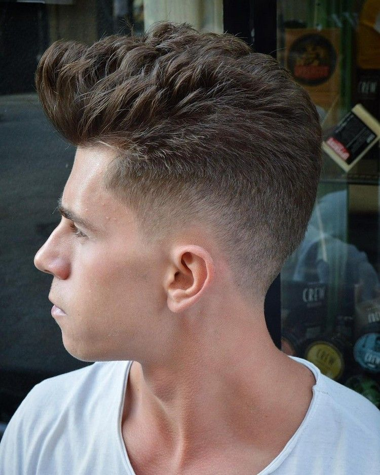 Undercut Manner Varianten Ubergang Langes Deckhaar Hairstyles Hair