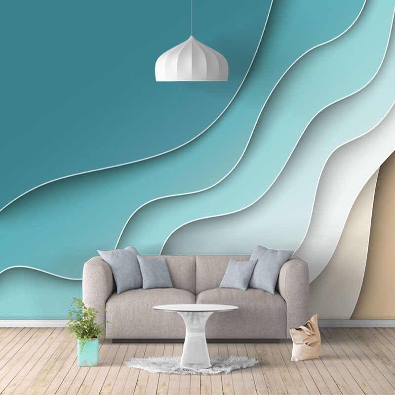 Papel pintado de foto personalizado mármol geométrico moderno murales de pared 3D sala de estar dormitorio telón de fondo papeles de pared para paredes decoración del hogar 3 D - AliExpress