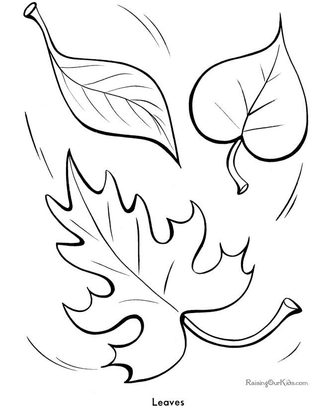 Coloring Sheets Of Leaves #2 | embroidery | Pinterest