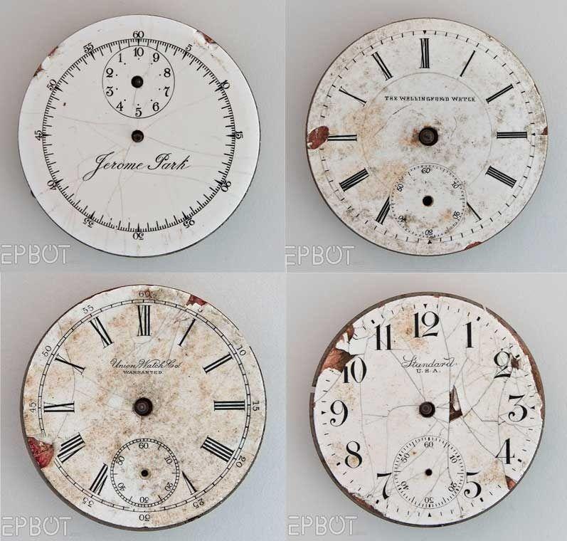 Scrapbooking Freebie Clock Faces Clock Face Printable Vintage