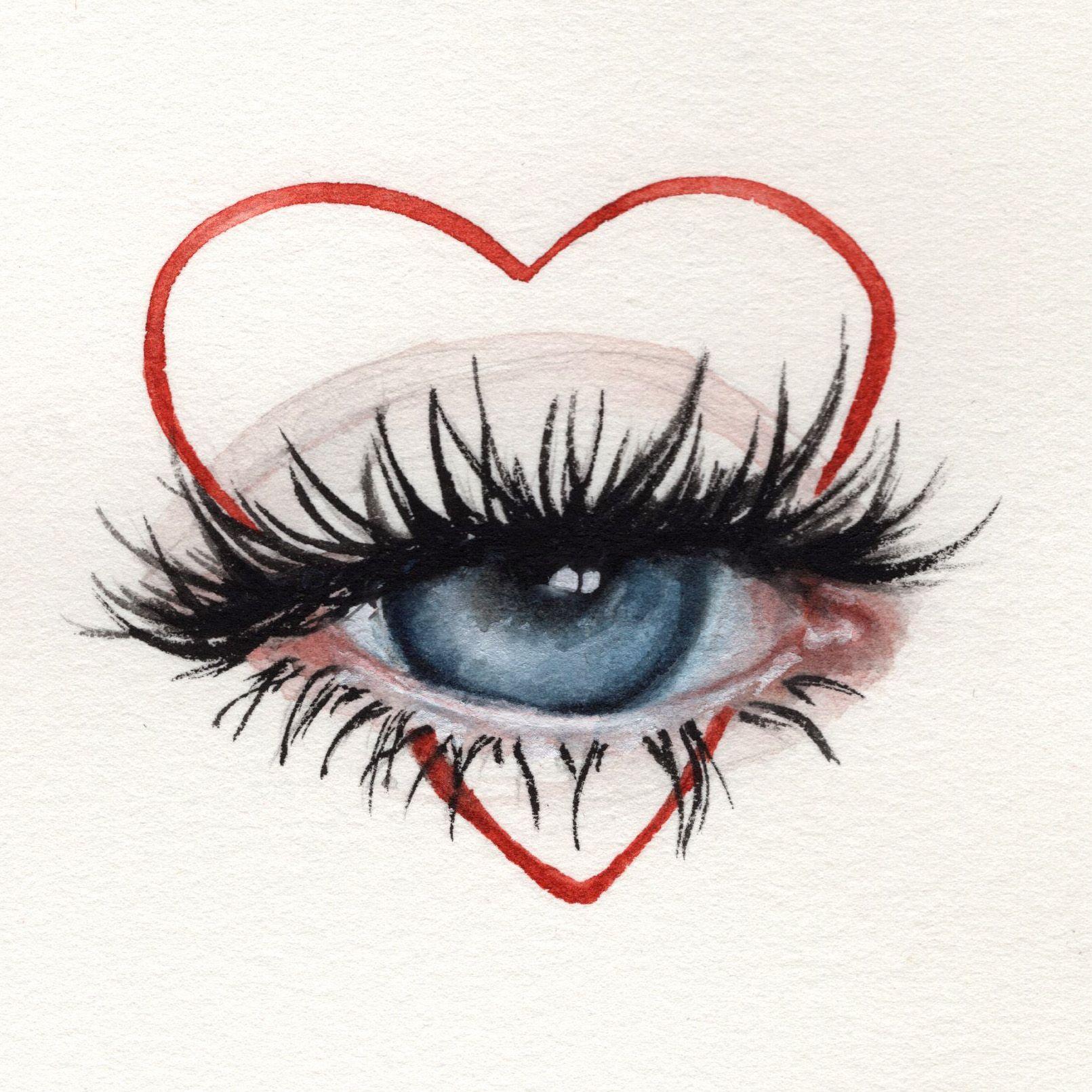 Oksanadimitrenko Watercolor Aquarelle Eyes Beauty Makeup