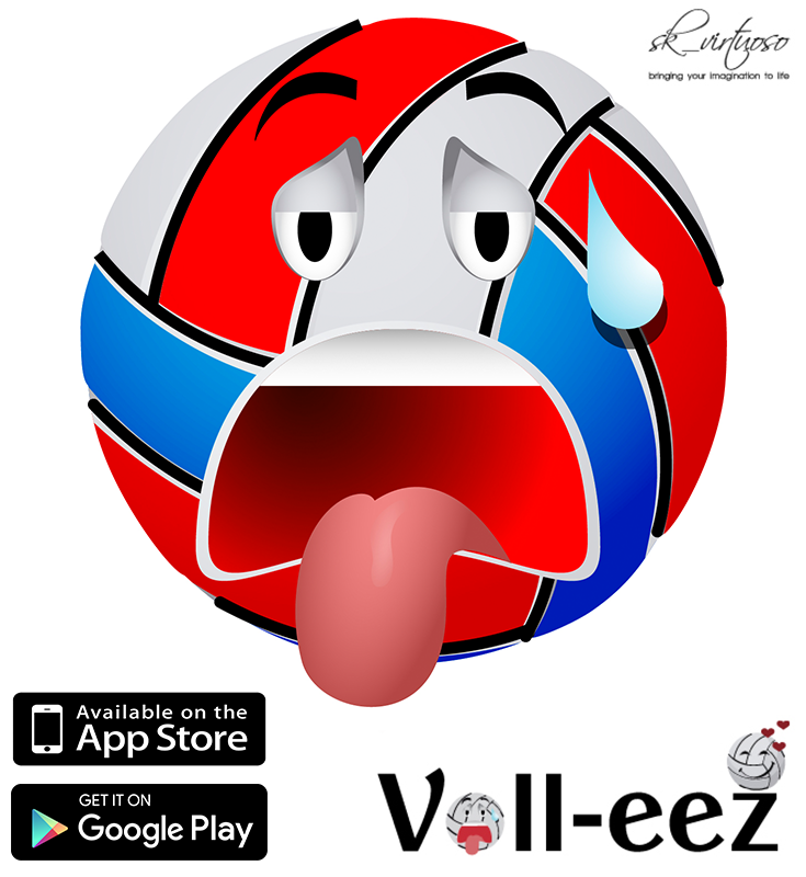 Get the Coolest Volleyball Emoji Apps. Go to