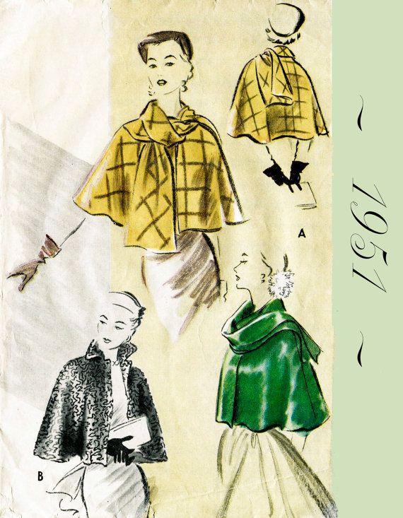 des années 1950 | patrons vintage | Pinterest | Vintage und Nähen