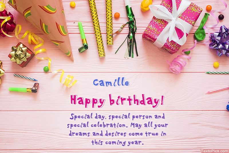 Happy Birthday Camille Beautiful Images In 2020 Birthday