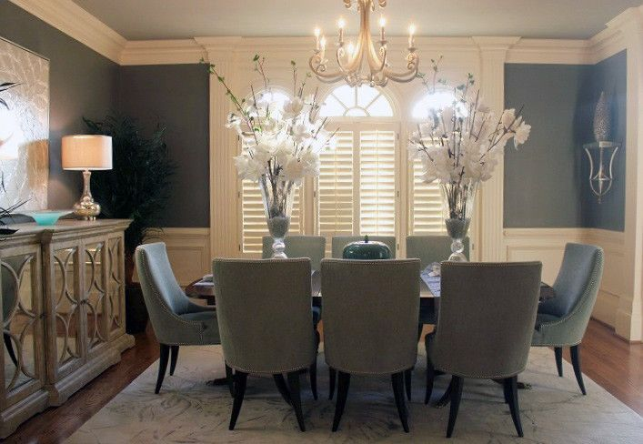 Precedent Furniture For A Dining Room With Upholstered Chair And