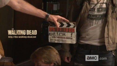The Walking Dead saison 4 : vidéo inédite du tournage du premier épisode