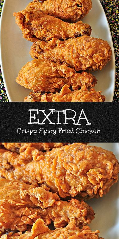 Extra Crispy Spicy Fried Chicken Crazy Cooking Challenge Recipe Chicken Recipes Spicy Fried Chicken Cooking Recipes