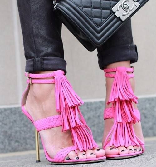Zapatos de mujer - Womens Shoes - Pink shoes