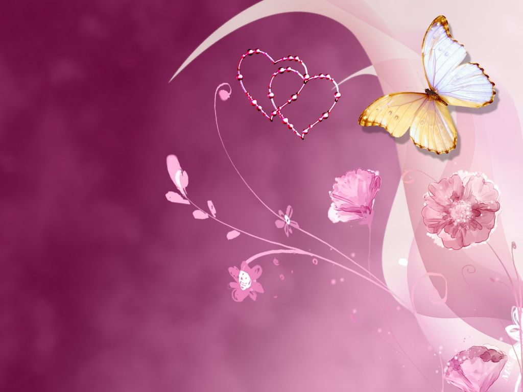 3D Butterflies Desktop Backgrounds