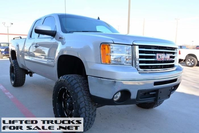 2010 Gmc Sierra 1500 Slt Z71 Ext Cab Lifted Truck Gmc Trucks For