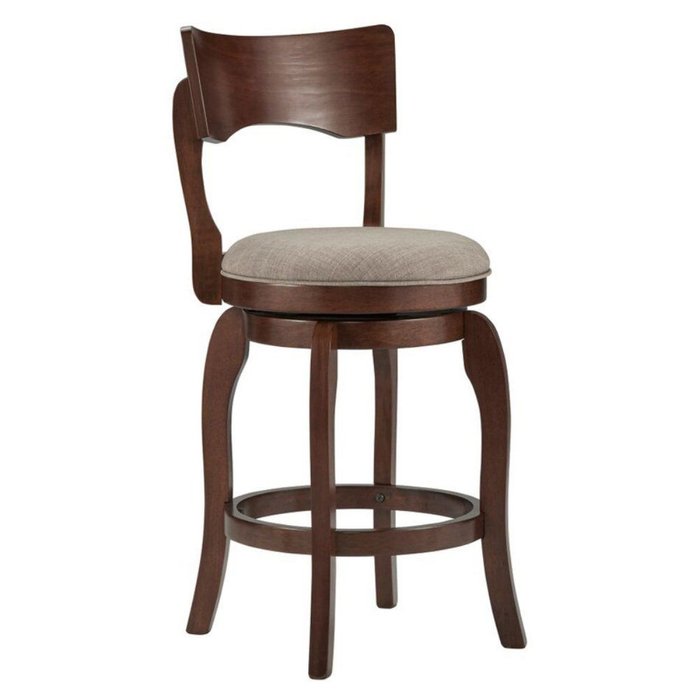 Amazon.com: Weston Home 24 in. Swivel Armless Counter Stool: Kitchen & Dining