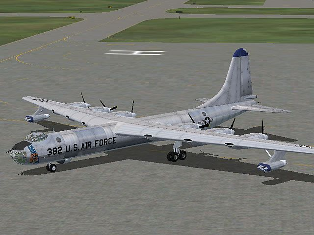 Convair B-36 Peacemaker (FSX/FS2004) | Well Done Stuff