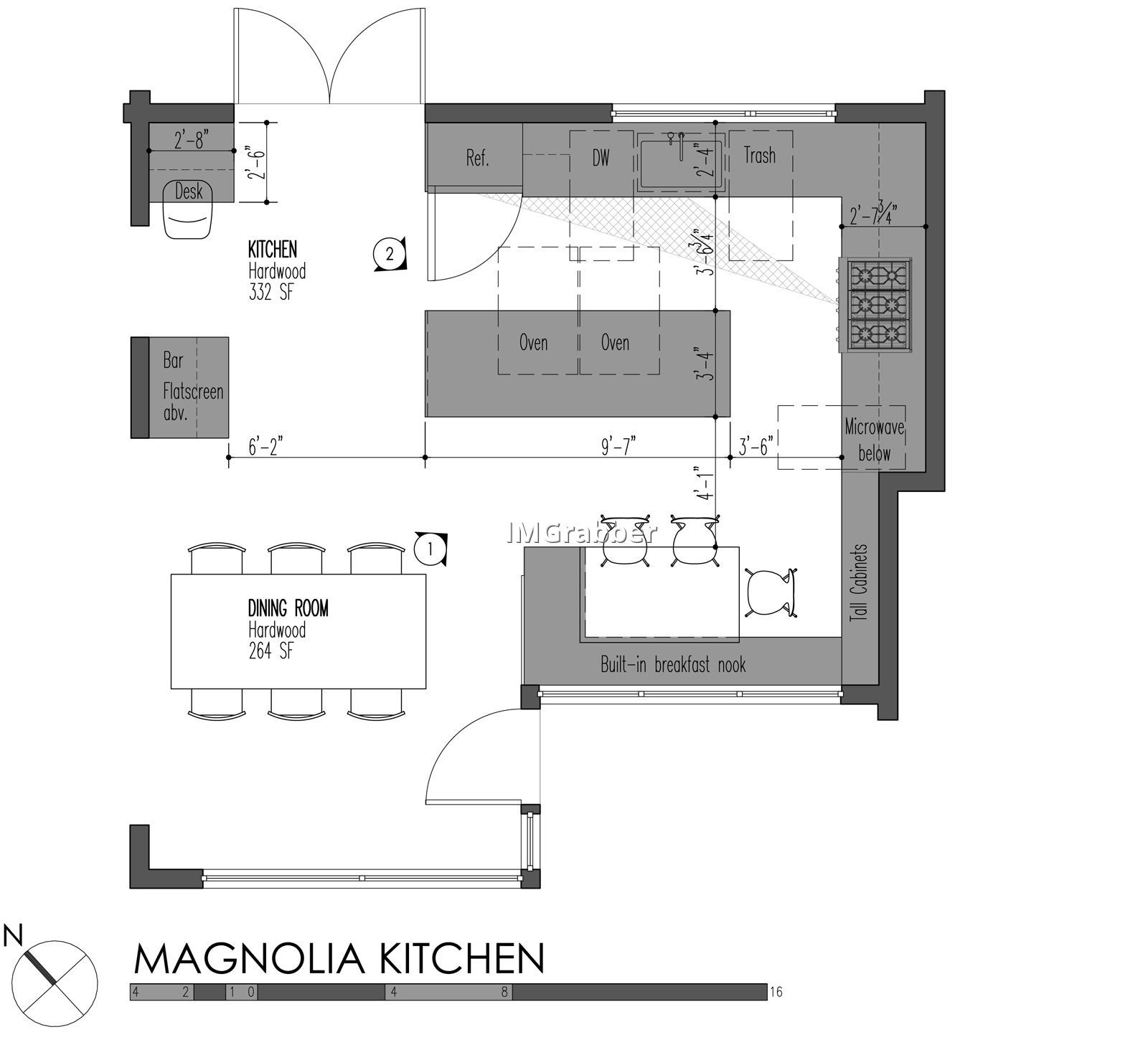 Kitchen Layout Dimensions With Island: Kitchen Island Dimensions Swfurn