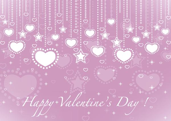 Valentine S Day Card Heart Design Template Design Template Free Valentine Pink Cards
