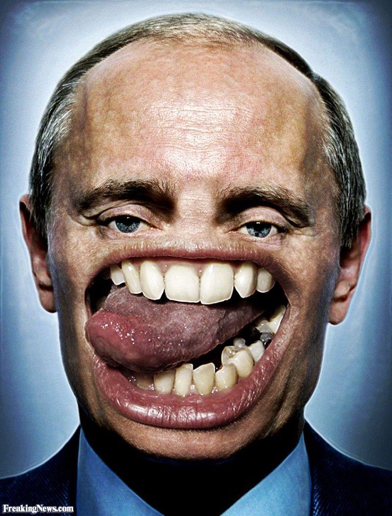 Картинка с большими зубами
