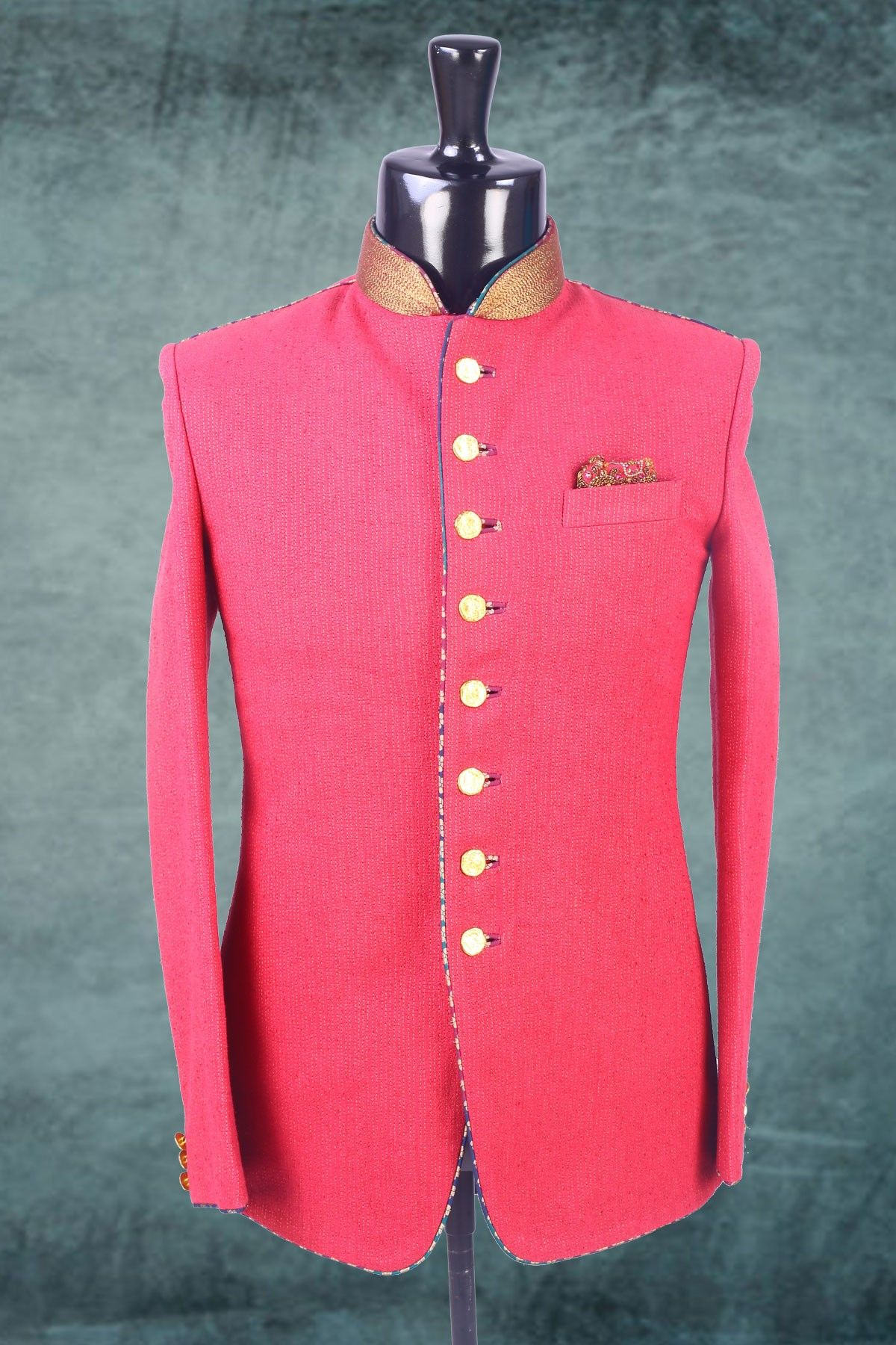 Pink plain falling fabric suit in full sleeves-ST247 #pink #plain ...