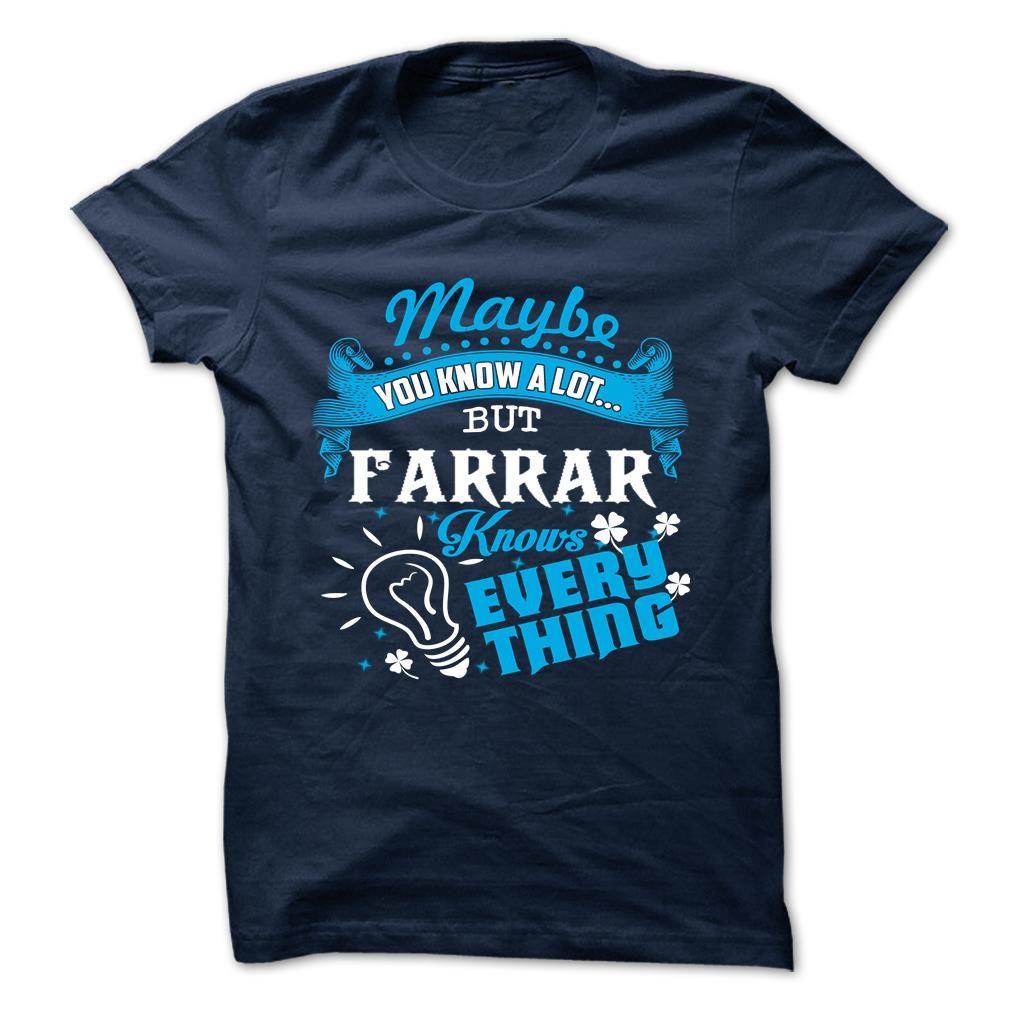 [New tshirt name printing] FARRAR Shirts 2016 Hoodies, Funny Tee Shirts