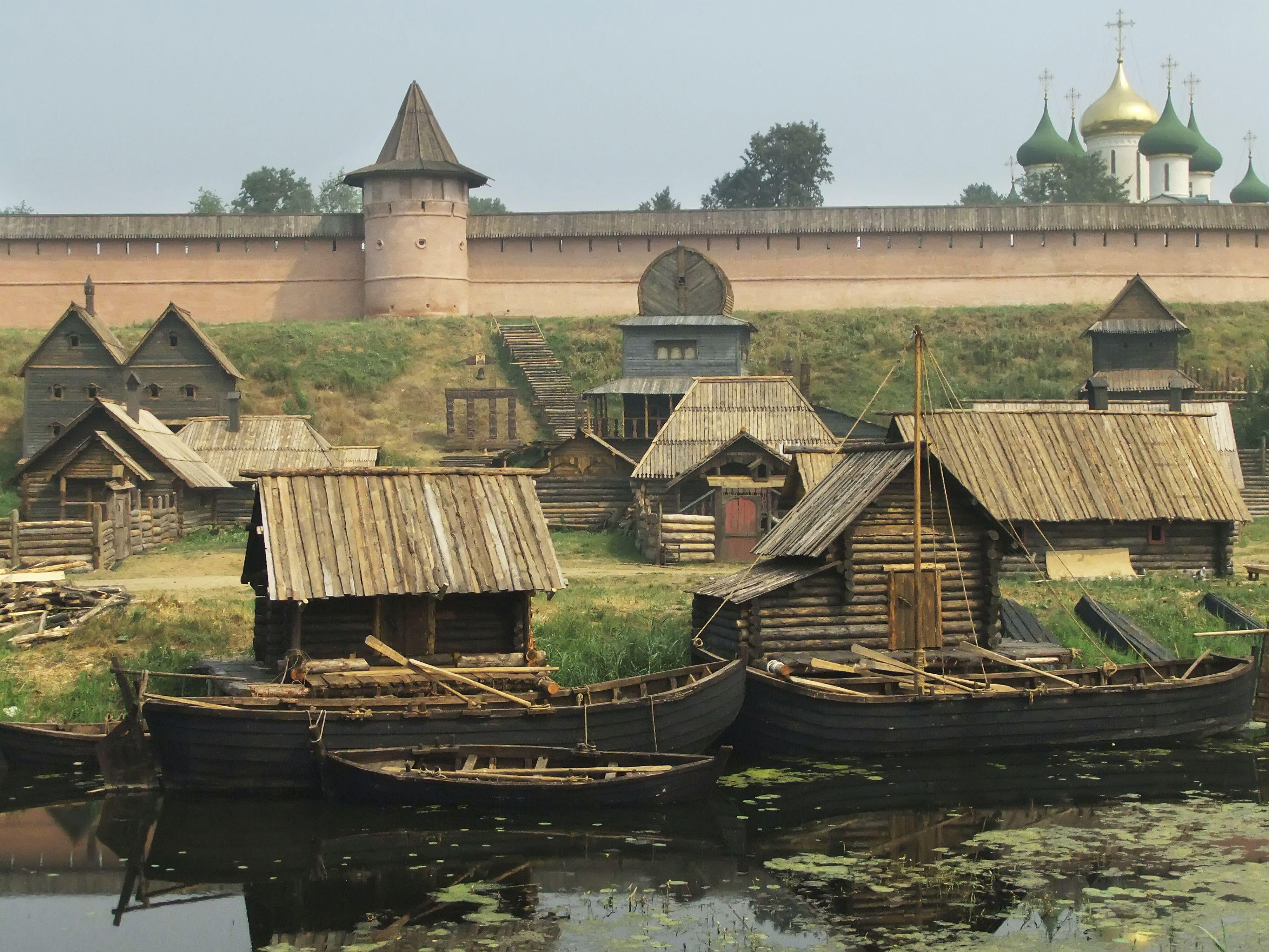 Картинки древние русские город