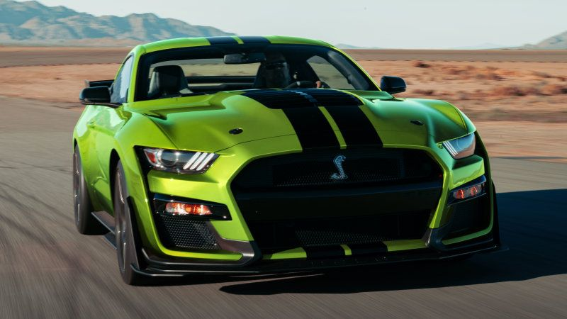 2020 Ford Mustang Shelby Gt500 Gets Very Green Grabber Lime Option Ford Mustang Shelby Gt500 Ford Mustang Gt500 Shelby Gt500