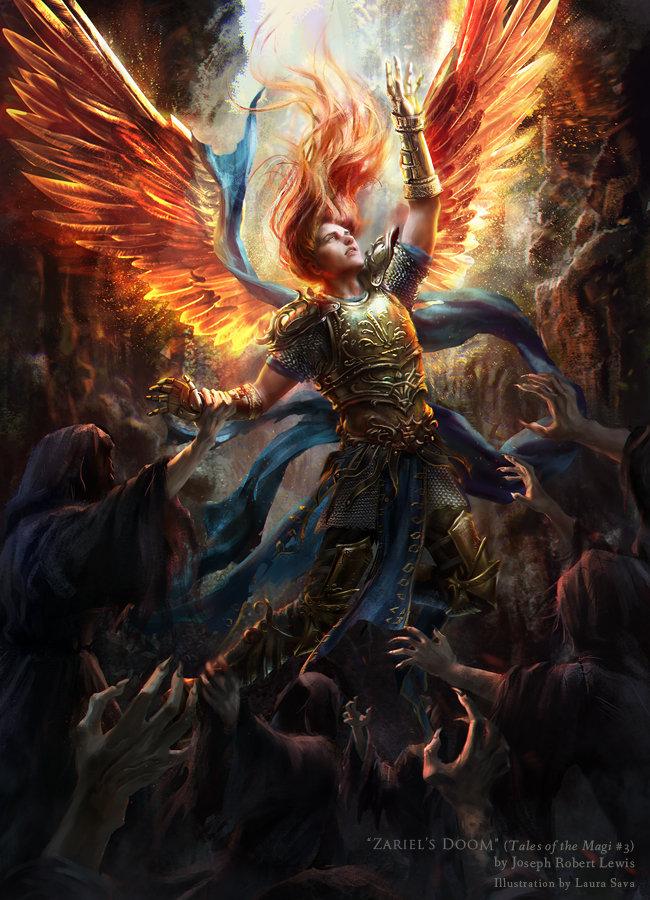ArtStation Zariel's Doom, Laura Sava Fantasy artwork