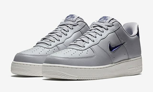 innovative design eb1e1 47776 AIR FORCE 1 LOW LEATHRE Wolf Grey Deep Royal Blue  stomperkicks  sneakers   kicks  sneakershouts  kickstagram  fashion  shoes  sneaker  airforce1 ...