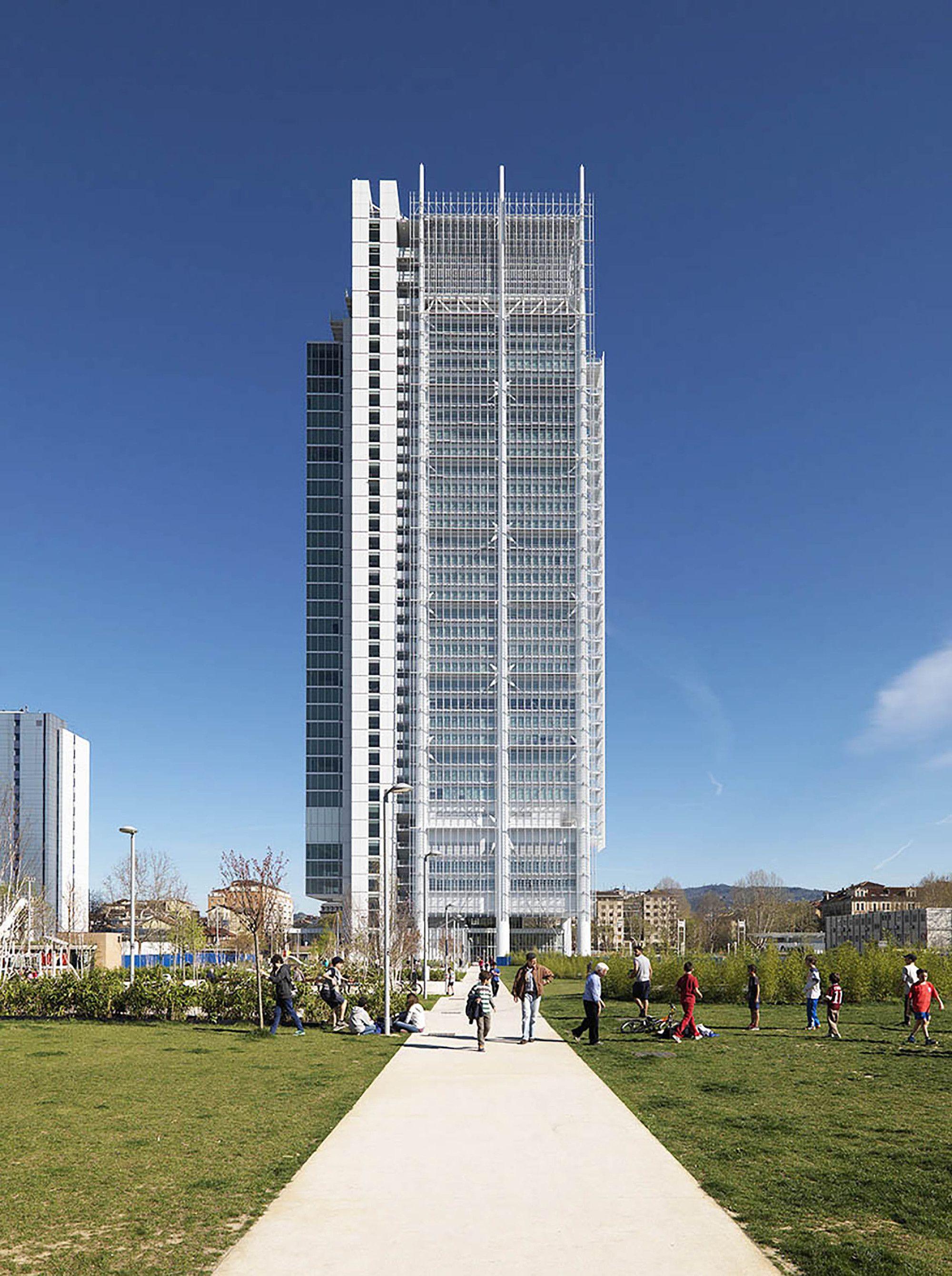 Intesa Sanpaolo fice Building in Turin Italy by Renzo Piano Building Workshop