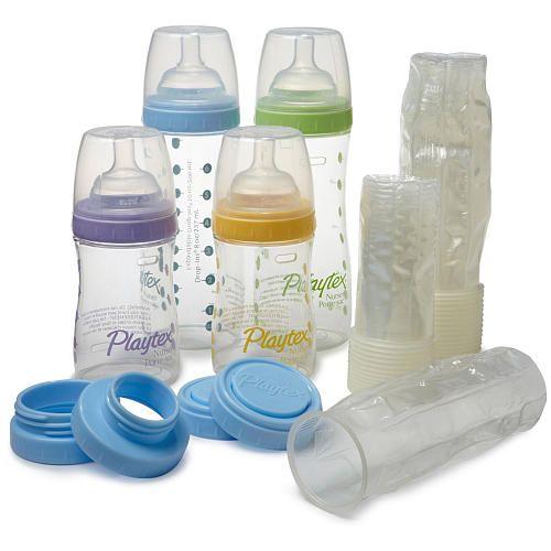 Playtex New Premium Nurser Newborn Gift Set With Drop Ins Colors Styles Vary