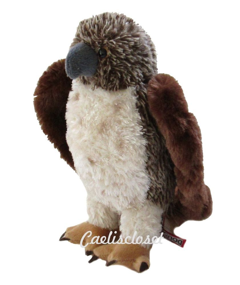 Douglas Orion Red Tail Hawk 9 Plush Bird Stuffed Animal Cuddle Toy