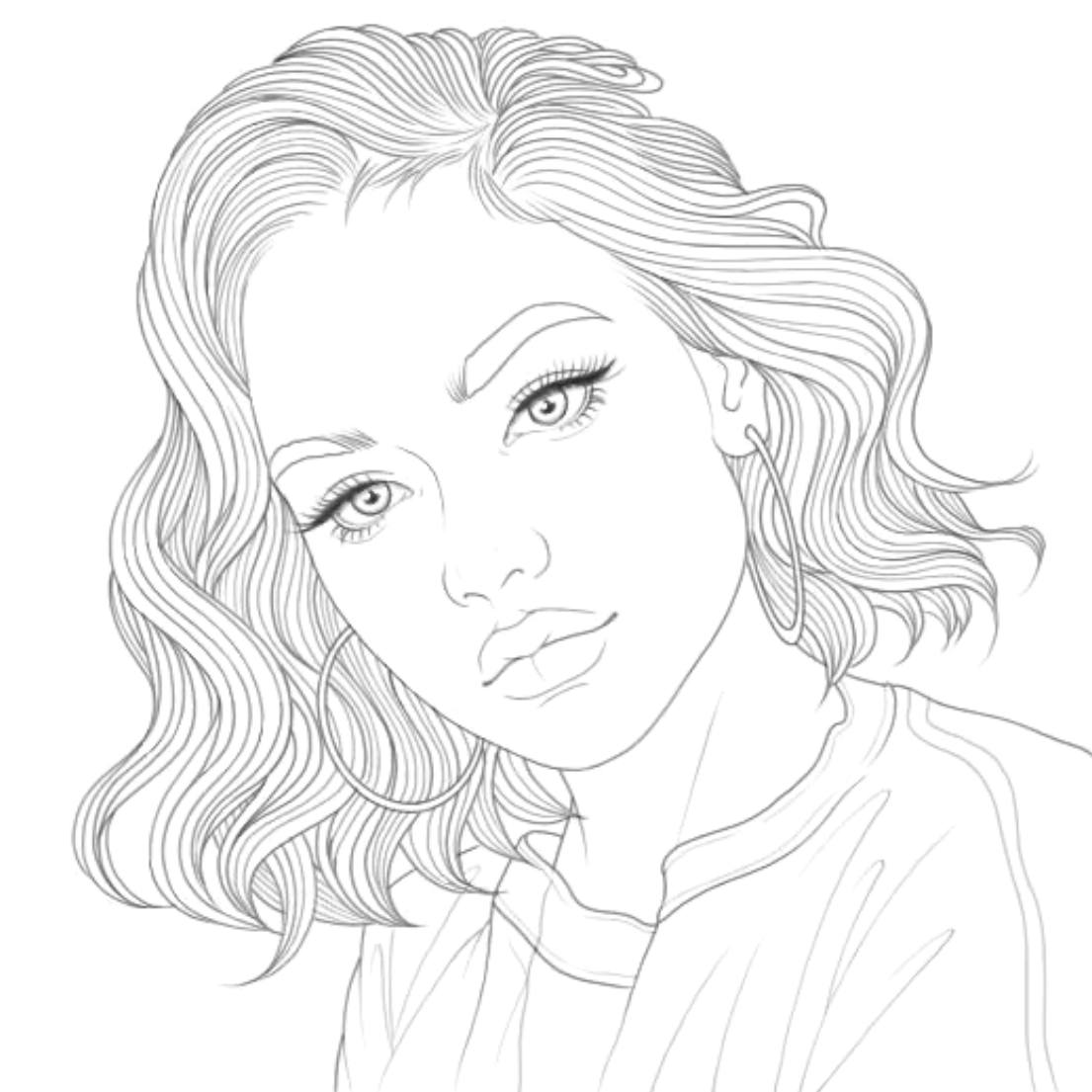 Pin By Rosi Salerno On Coloring Book With Numbers People Coloring Pages Outline Art Tumblr Coloring Pages