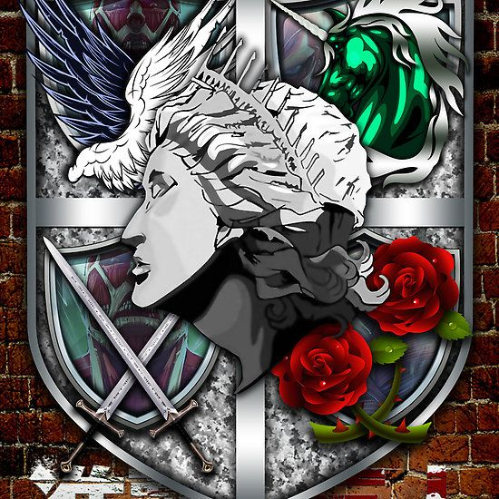 Wall Emblems By Epyongart Attack On Titan Anime Attack On Titan Attack On Titan Fanart