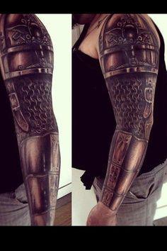 tattoo celtic shoulder armor | Tattoo armor