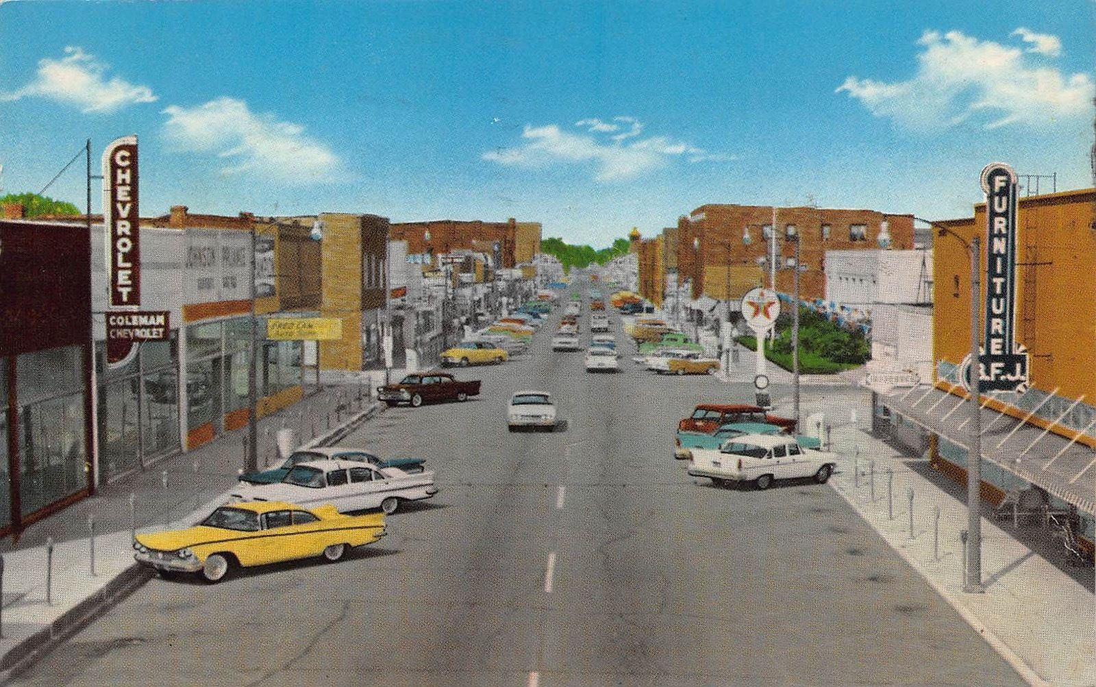 Il 1961 Main Street At West Frankfort Illinois Franklin County Ebay Frankfort Illinois Franklin County Frankfort
