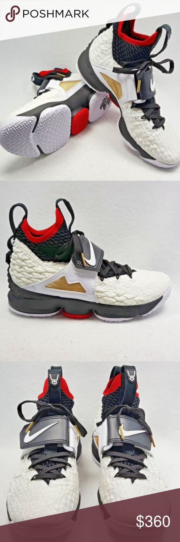 hot sale online 8e043 cd8b1 Nike Lebron XV 15 Prime Diamond Turf Deion Sanders ** Box ...