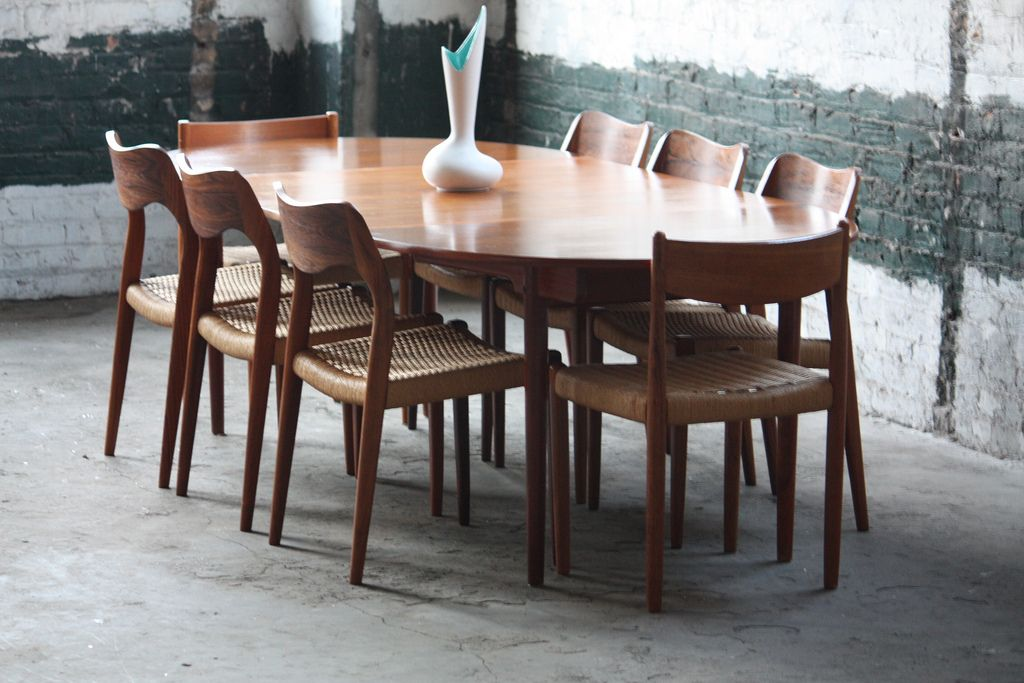 Mid Century Modern Expandable Dining Table Home Design Inspirat