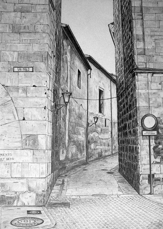 Calle De Salamanca Dibujos De Arquitectura Concepto Dibujo De Arquitectura Bocetos Arquitectura