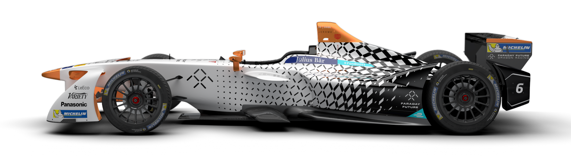 Faraday Future Dragon Racing Reveals Formula E Season Three Livery