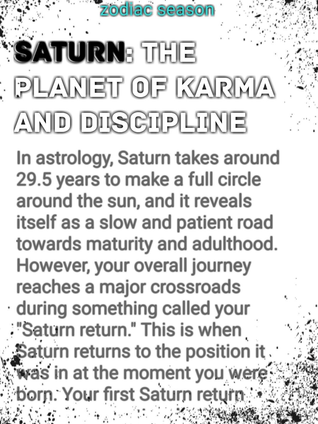 These Are The Most Important Planets In Astrology Saturn Uranus