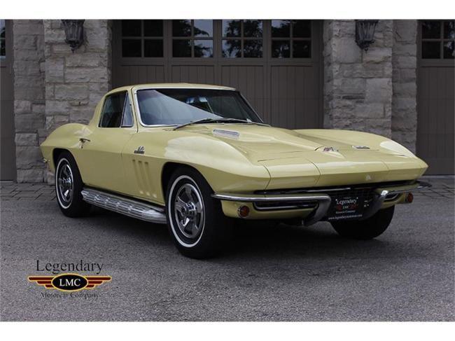 1966 Chevrolet Corvette In Halton Hills Ontario Chevrolet Corvette Chevrolet Corvette
