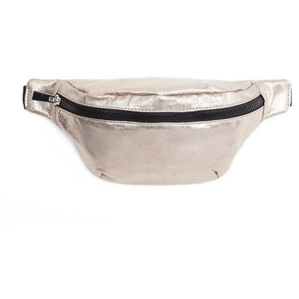 3252080bd28cac Forever21 Metallic Fanny Pack ($13) ❤ liked on Polyvore featuring bags, waist  pack bag, forever 21 bags, fanny bag, waist fanny pack and glitter fanny  pack
