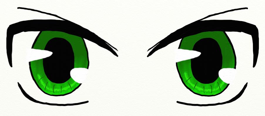 Anime Eyes Attempt 3 By Moshigal156 On Deviantart Anime Eyes Anime Chibi