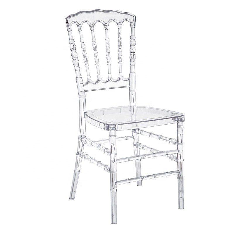 Clear Resin Napoleon Chair In 2020 Clear Chairs Chair Chiavari Chairs